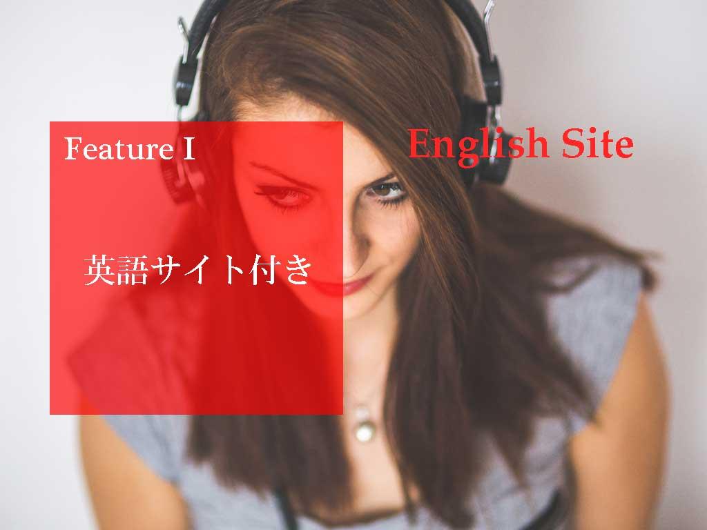 英語サイト付き