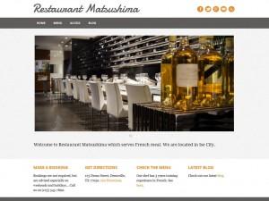 レストランサイト